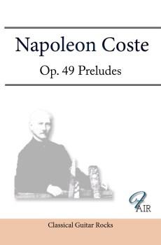 Napoleon Coste Op. 49 score