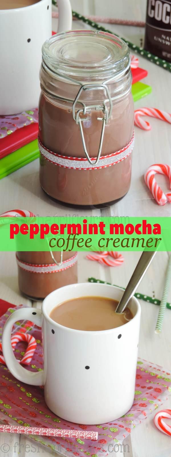 Peppermint Mocha Coffee Creamer
