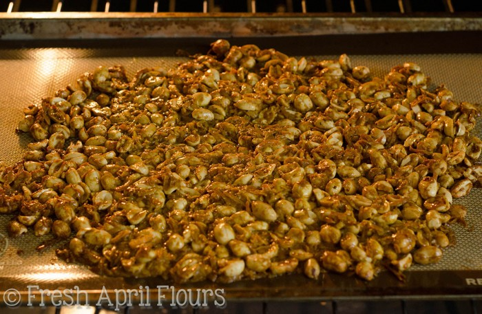 Toasted Coconut Curry Peanuts: A sweet heat snack that will have you reaching for more.