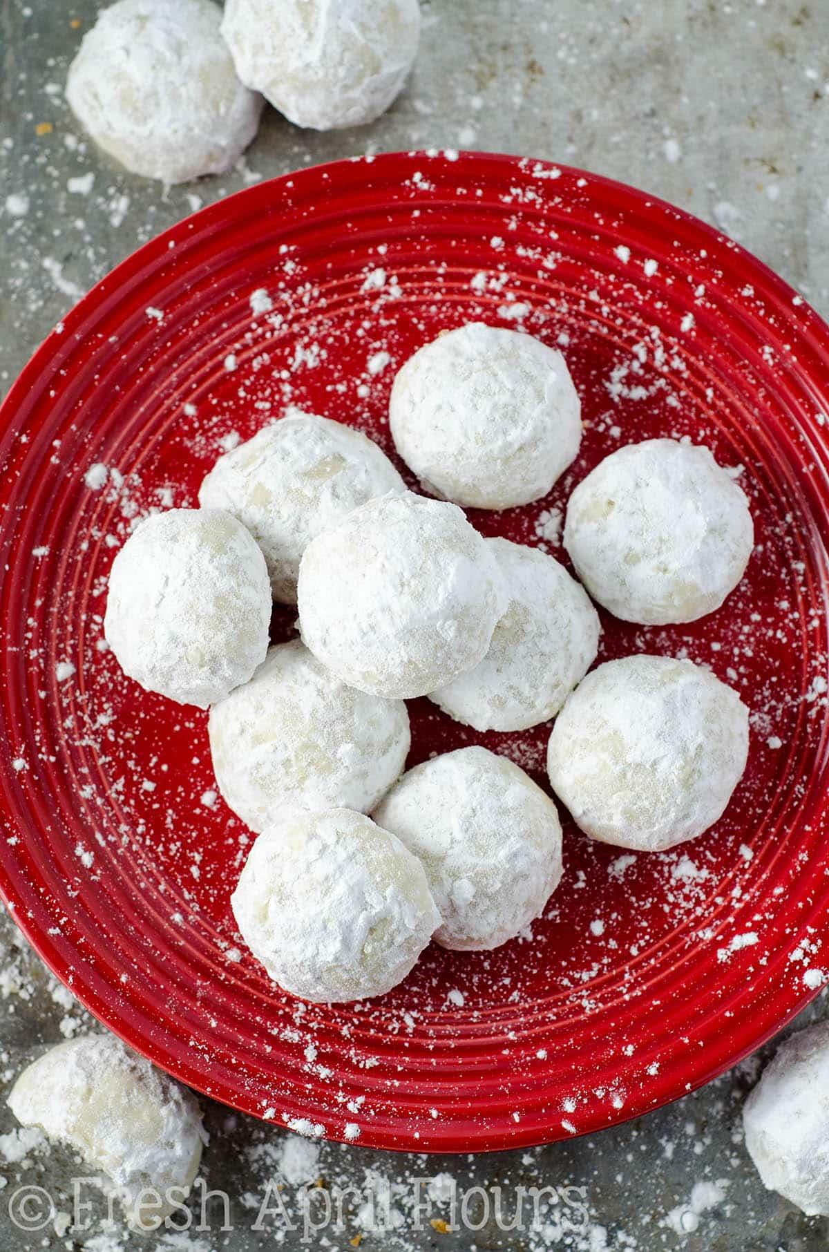 Russian Tea Cakes Snowballs