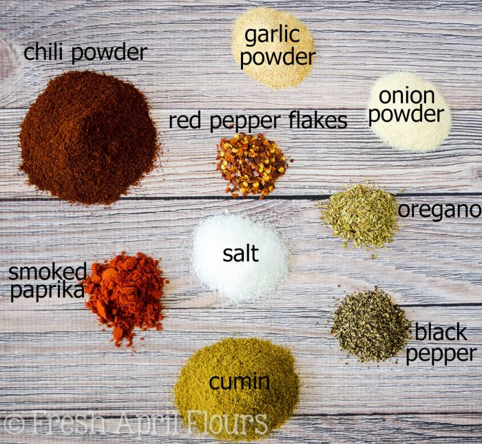 Homemade Taco Seasoning: Making your own taco seasoning at home is as easy as combining a few staple spices you likely already have in your pantry. Ditch the packets and have your own on hand at all times!
