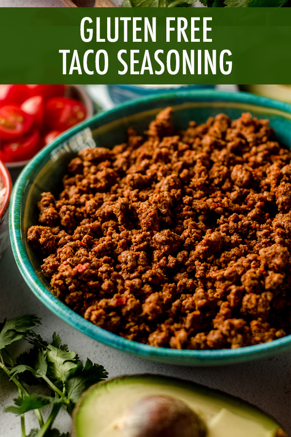 Making your own gluten free taco seasoning at home is as easy as combining a few staple spices you likely already have in your pantry. Ditch the packets and have your own on hand at all times!