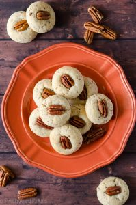 almond flour pecan sandies