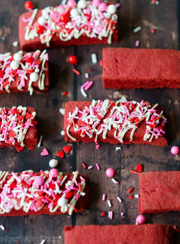 Red Velvet Biscotti: A Valentine's Day twist on classic biscotti using red velvet cake mix.