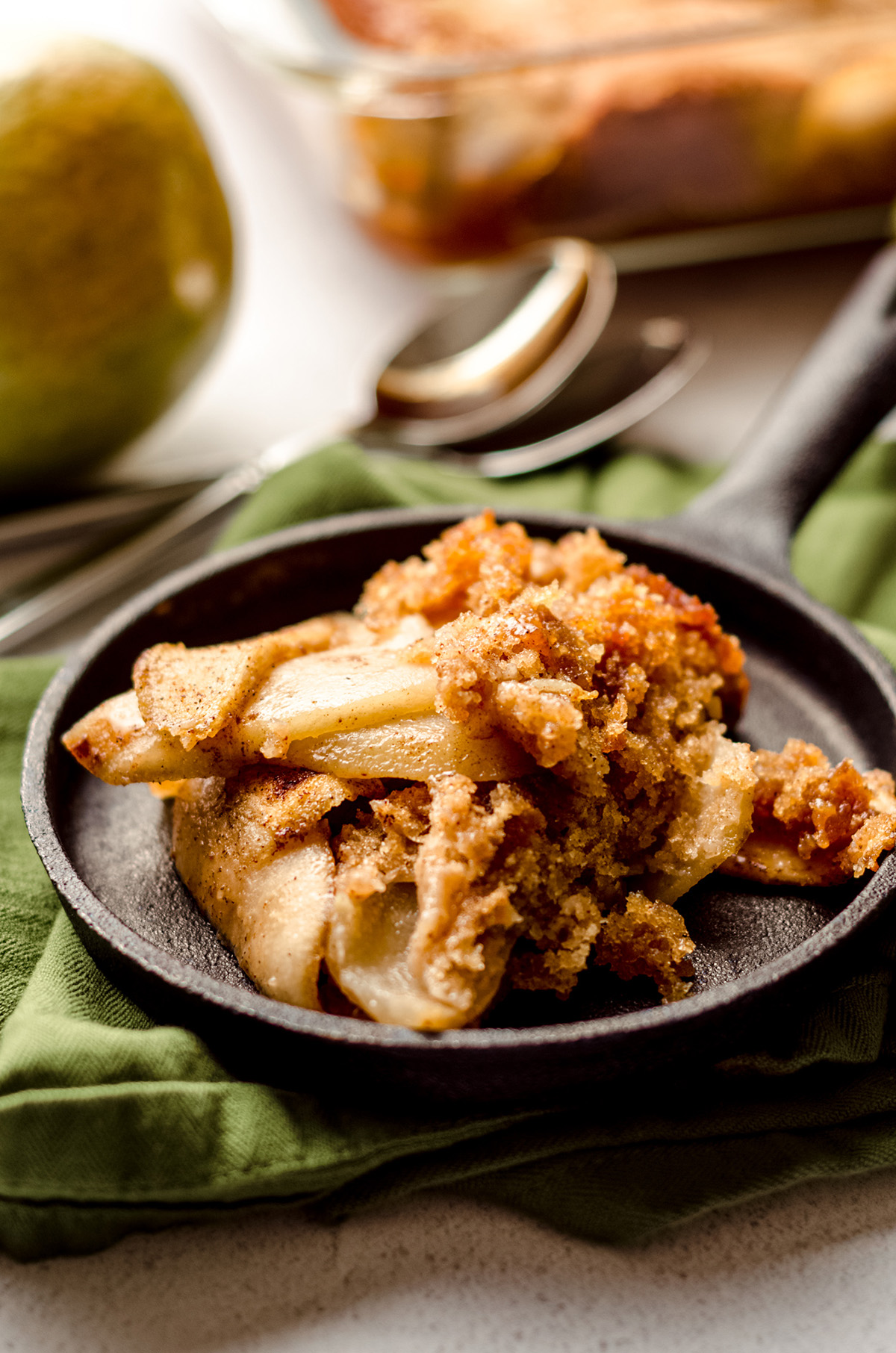 pear cobbler