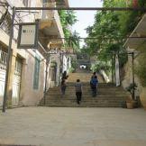 Stairs connecting Beirut neighborhoods