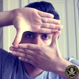 Censored selfie