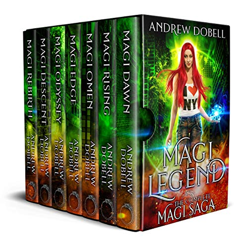 Get this complete Epic Urban Fantasy Thriller as a boxed set today!