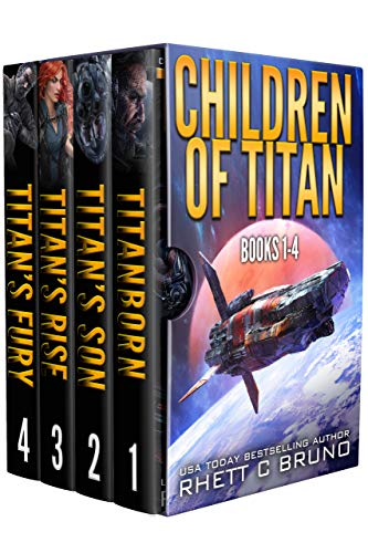 Children of titan ebook cover