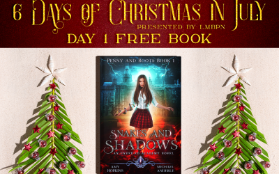 Christmas in July Day 1: Get Snakes and Shadows for Free!