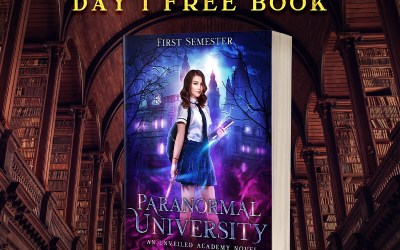 Back to School Day 1: Get Paranormal University: First Semester for Free!