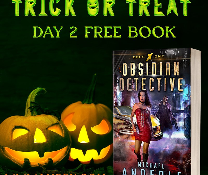 Trick or Treat Day 2: Get Obsidian Detective for FREE!