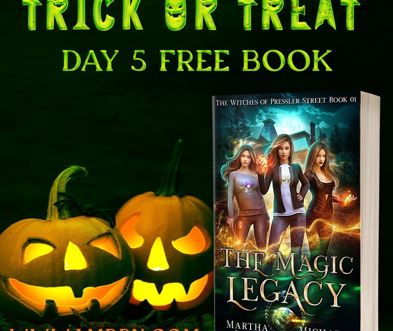 Trick or Treat Day 5: Get The Magic Legacy for FREE!