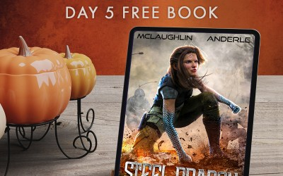 Bountiful Book Giveaway: Day 5 Steel Dragon