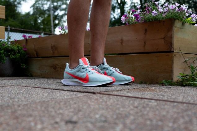 Nike Pegasus Turbo on foot