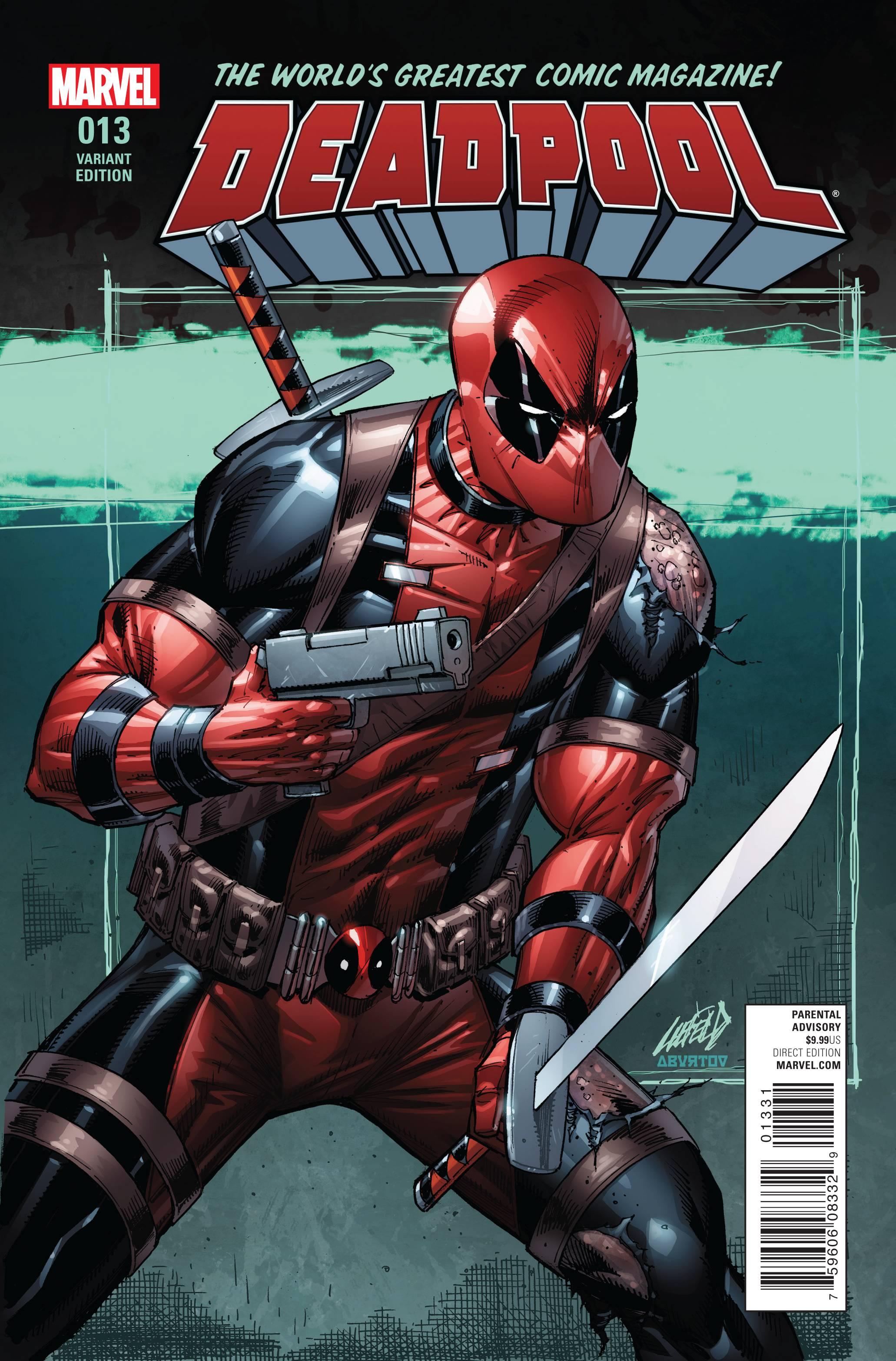 Deadpool 13 Liefeld Cover  Fresh Comics