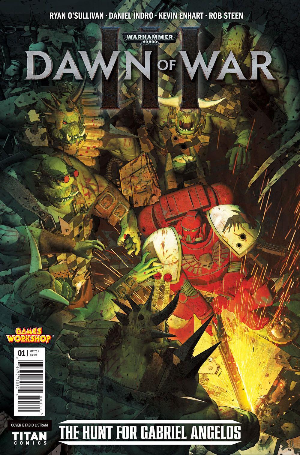 Dawn Of War Iii : Warhammer, 40,000:, (McGill, Cover), Fresh, Comics