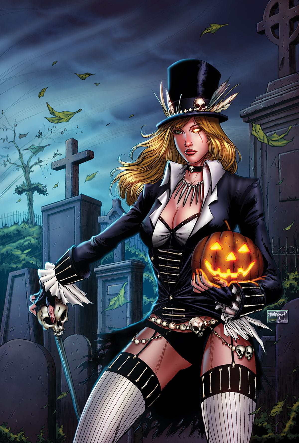 Grimm Fairy Tales Halloween Goh Cover