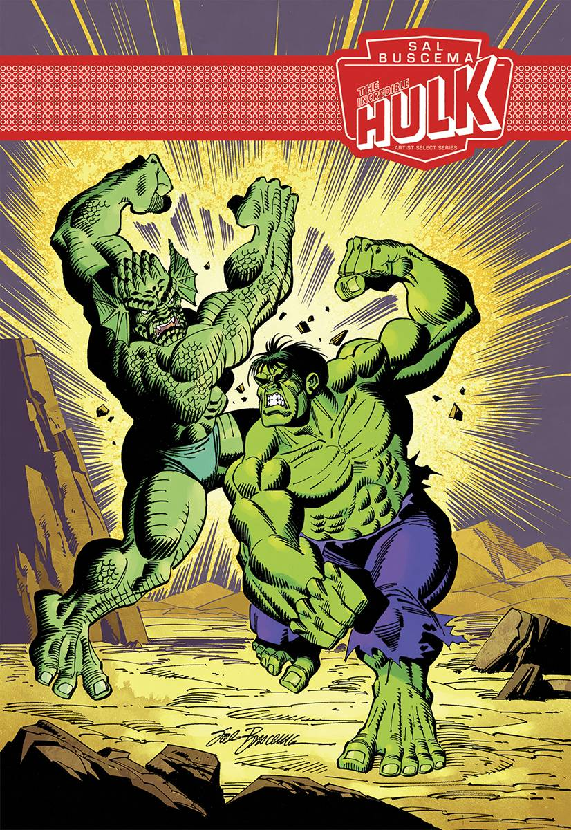 The Incredible Hulk Sal Buscema Marvel Artist Select