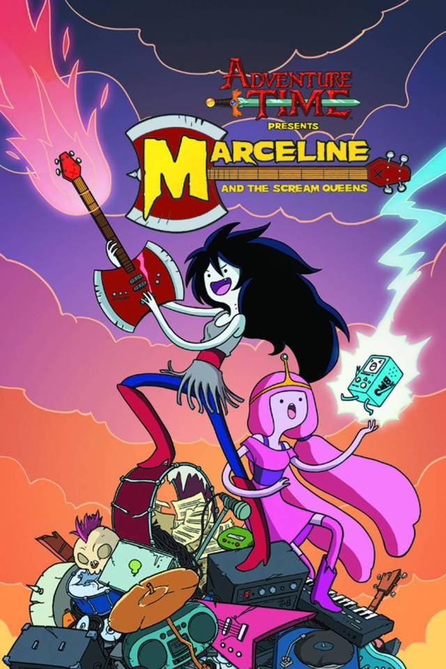 Adventure Time Marceline And The Scream Queens Vol 1