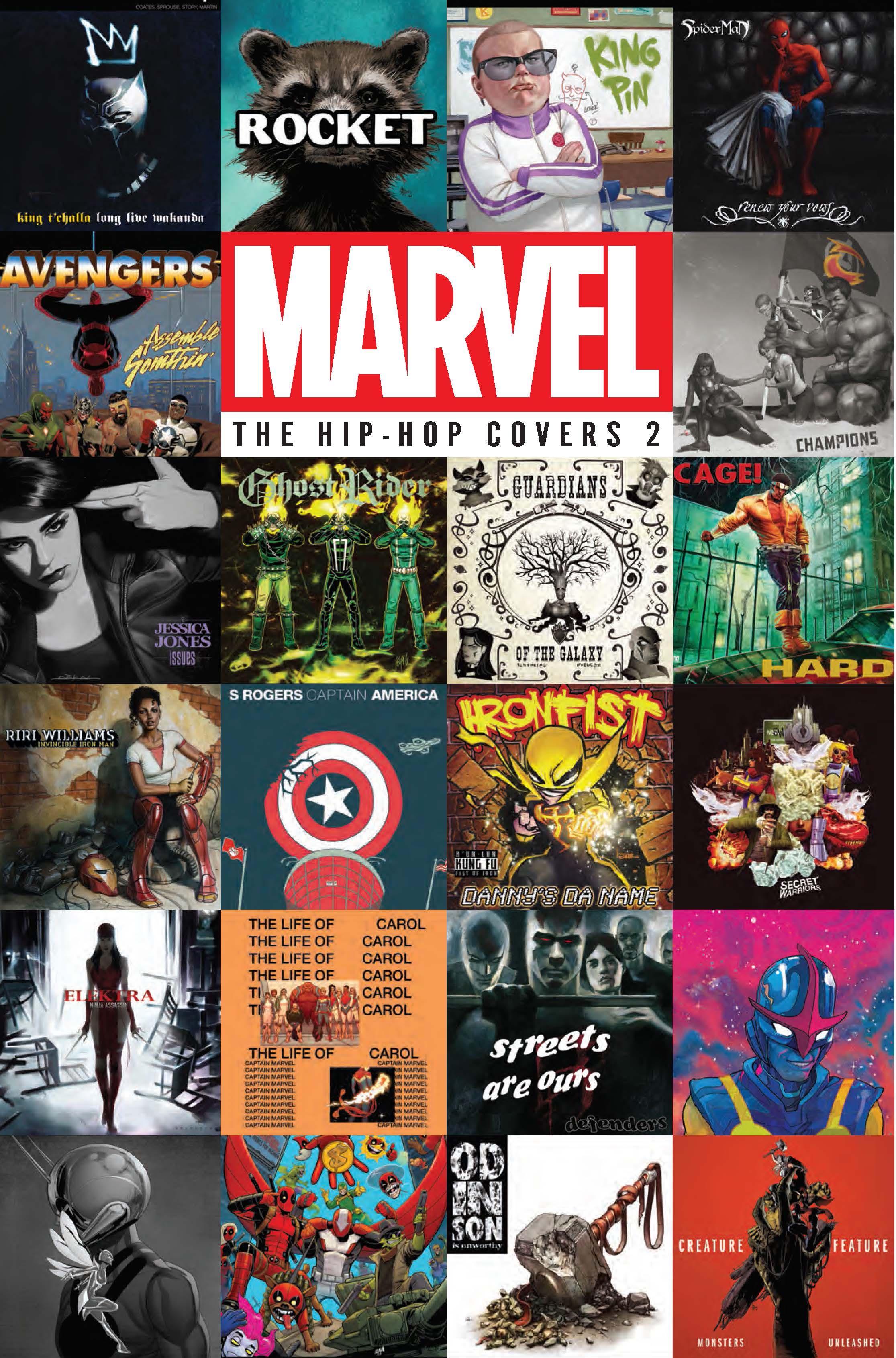 Marvel The Hip Hop Covers Vol 2 Fresh Comics