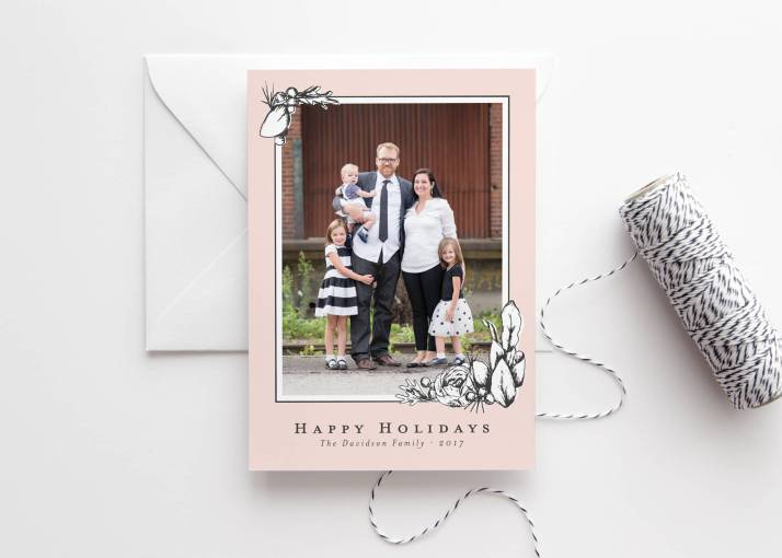 Floral Christmas Cards