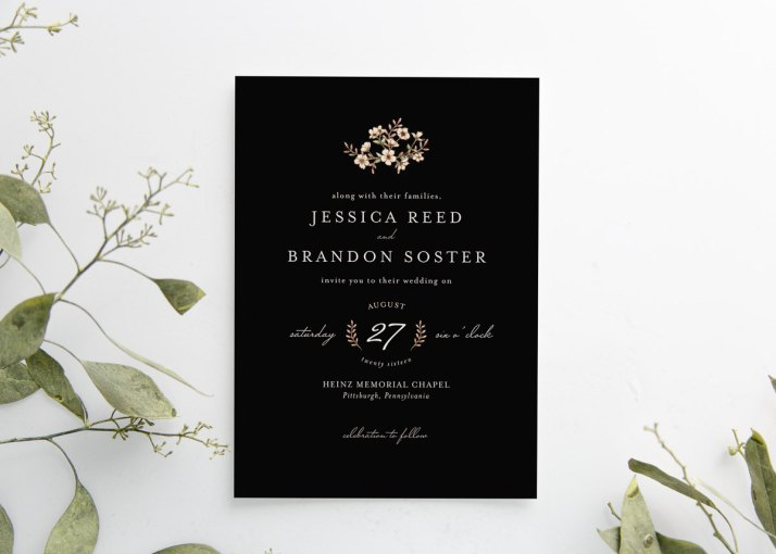 Glam Wedding Stationery Package