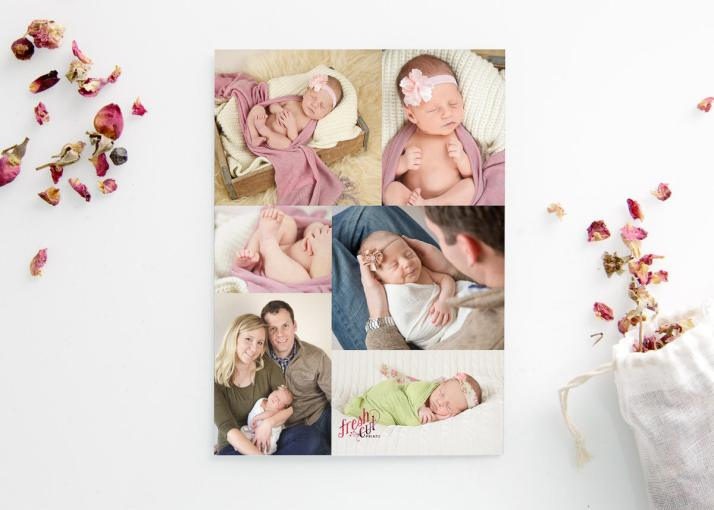 Printed Birth Announcements