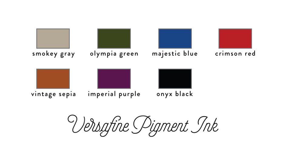 Versafine Pigment Ink Stamp Pad