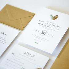 Winter Wedding Invites