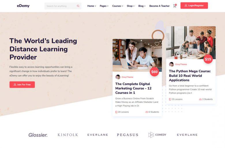 Insurance website template web design templates website. 90 Best Education Website Templates 2021 Freshdesignweb