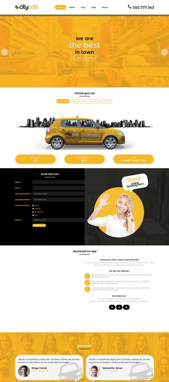 Send with your current email platform. 40 Best Car Rental Taxi Website Templates Free Premium Freshdesignweb
