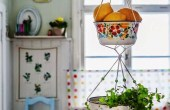 Hanging Vegetable Baskets Kitchen For Fruit and Vegetables Combo