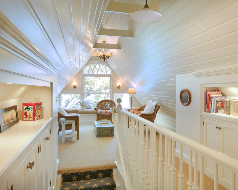 The Attic Into A Perfect Play Area For The Kids
