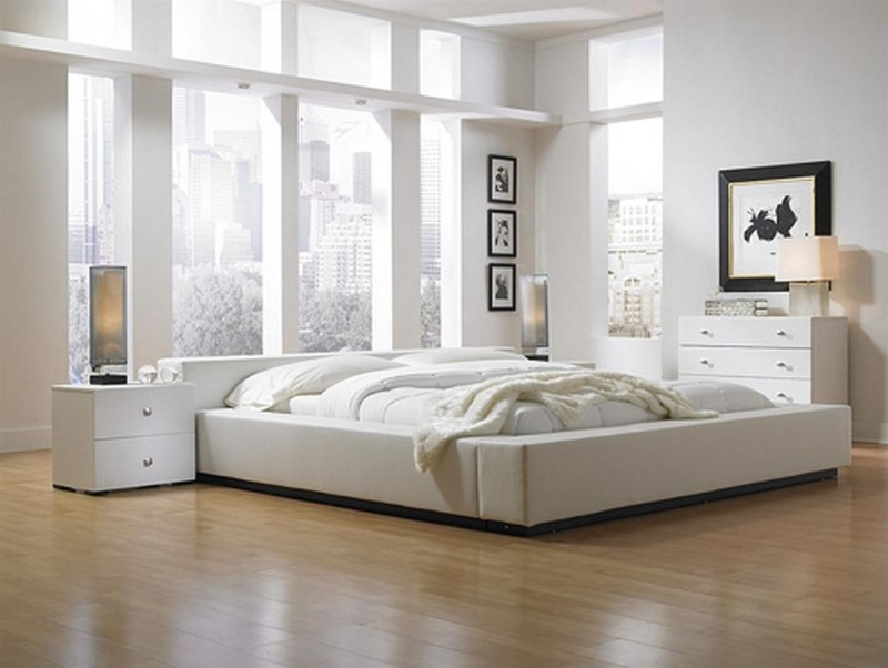White Wall Color Ideals For 1 Bedroom Apartments Under 500