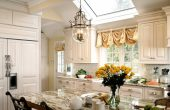 kitchen Balloon Curtains for Living Room