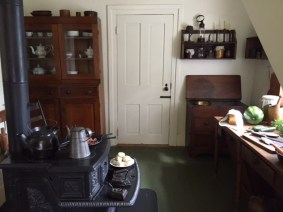 Kitchen in Lincoln's home