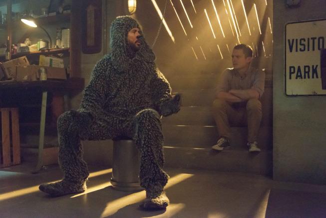 Pictured: (L-R) Jason Gann as Wilfred, Elijah Wood as Ryan. CR: Prashant Gupta/FXX.