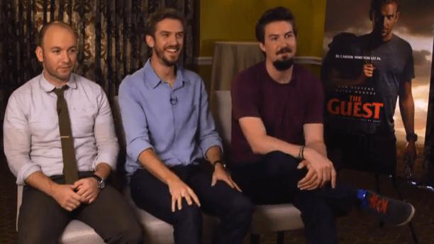 Interview: Dan Stevens, Simon Barrett, & Adam Wingard on