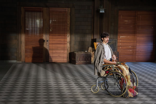 Justin Long plays Wallace Bryton in Kevin Smith's TUSK. Photo courtesy of A24.