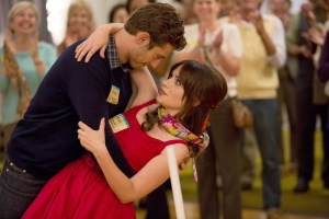 "NEW GIRL:  Jess (Zooey Deschanel, R) and Ryan (guest star Julian Morris, L) are partners during a teachers' conference in the ""Teachers"" episode of NEW GIRL airing Tuesday, Nov. 18 (9:00-9:30 PM ET/PT) on FOX.  ©2014 Fox Broadcasting Co.  Cr:  Jennifer Clasen/FOX"