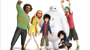 The characters of Big Hero 6.