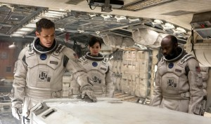 Matthew McConaughey, Anne Hathaway, and a scene-stealing David Gyasi.