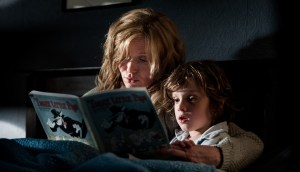 Essie Davis and Noah Wiseman play mother and son in THE BABADOOK. Photo courtesy of IFC Films.