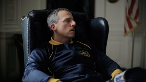 Steve Carell in this year's FOXCATCHER.