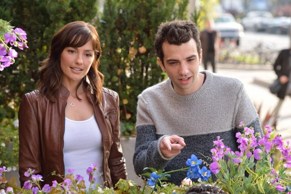"MAN SEEKING WOMAN -- Episode 5: ""Sizzurp"" (Airs Wednesday, February 11, 10:30 PM e/p). Pictured: (L-R) Minka Kelly as Whitney, Jay Baruchel as Josh. CR: Michael Gibson/FXX"
