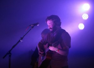 Midlake's Eric Pulido performs at the Texas Theatre in Dallas, TX.