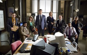 The cast of BATTLE CREEK. Photo courtesy of CBS.