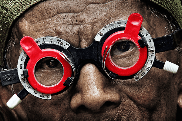 THE LOOK OF SILENCE. Photo courtesy of Drafthouse Films.