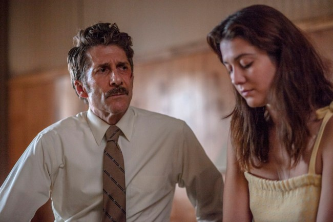 Leland Orser and Mary Elizabeth Winstead in FAULTS. Photo courtesy of Screen Media Films.